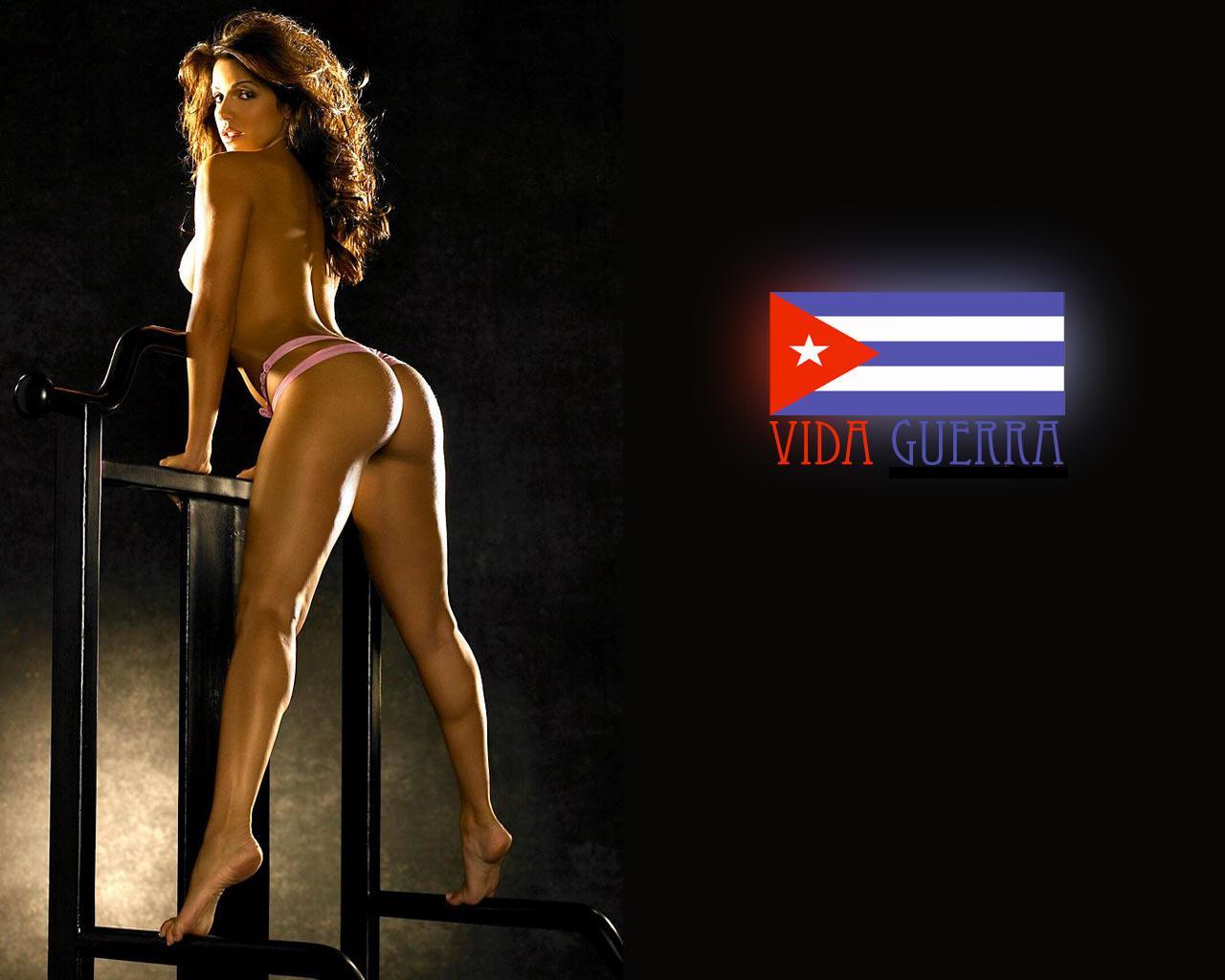 Секс-символ латинской Америки топ-модель Вида Гуэрра (Vida Guerra